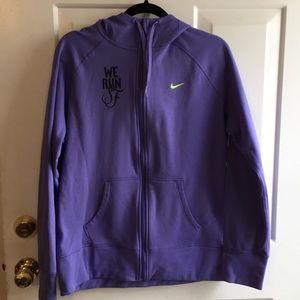 Nike Women's Zip Hoodie We Run SF